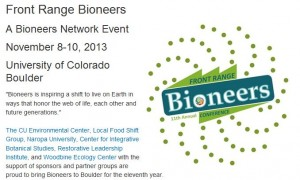 Bioneers conf